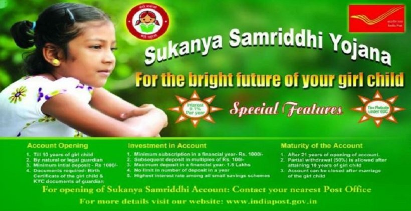 Sukanya Samriddhi Account Rules