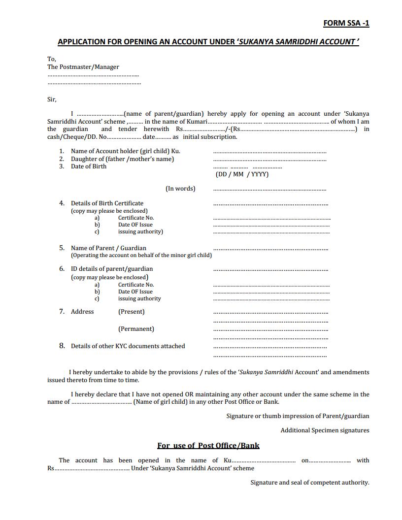 Application-Form-For-nya-Samriddhi-Yojana Obc Certificate Application Form Am on