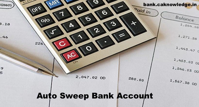 Auto Sweep Bank Account