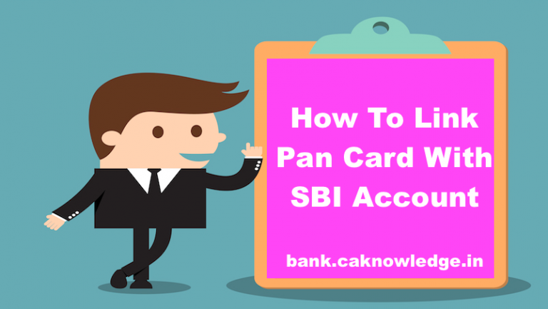 How To Link Pan Card With SBI Account