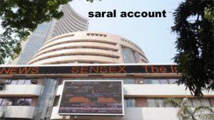 saral account