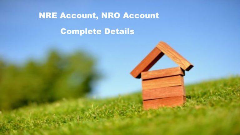 NRE Account, NRO Account