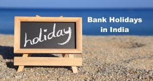 Bank Holidays in India