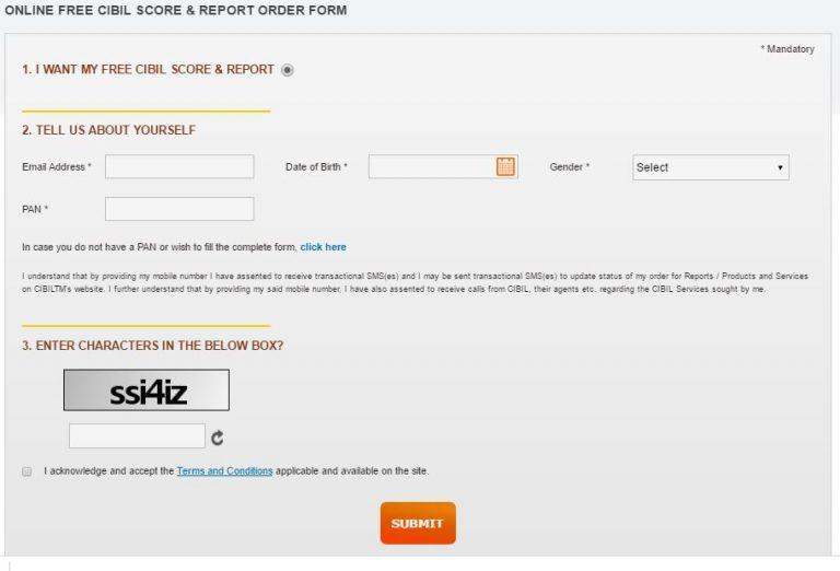 CIBIL Free Credit Score