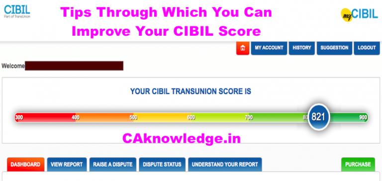 Improve Your CIBIL Score