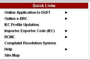 Import Export Code IEC