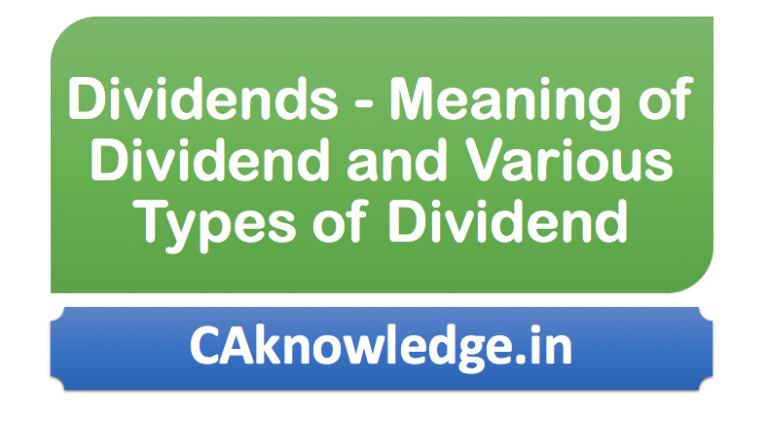 Dividends Bank