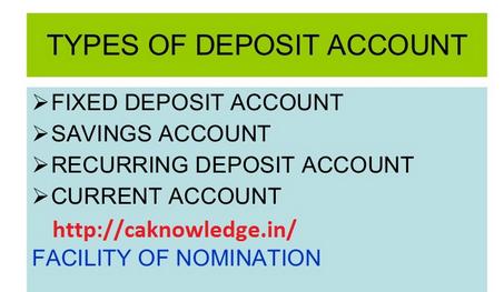 Type of Bank Deposits