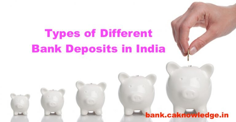 Types of Different Bank Deposits in India