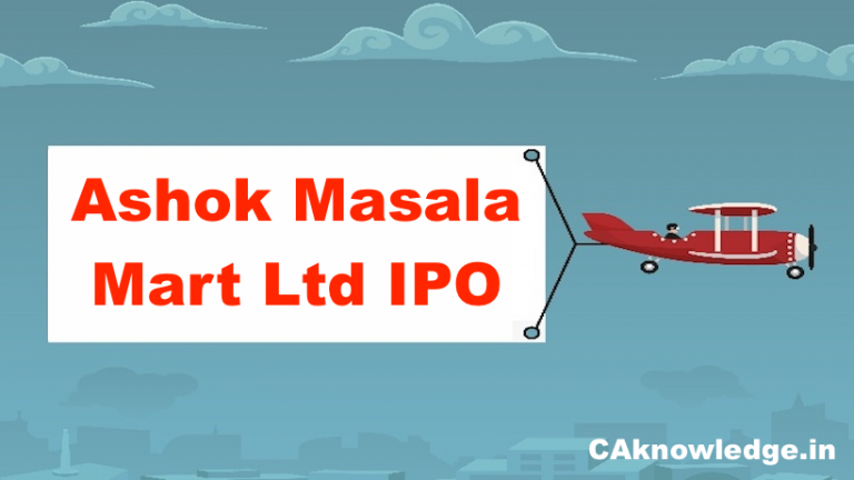Ashok Masala IPO