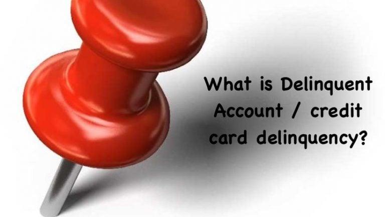 Delinquent Account