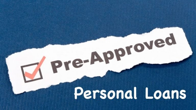 Pre approved personal loans