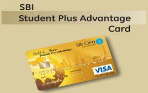 SBI Student plus Advantage Credit Card