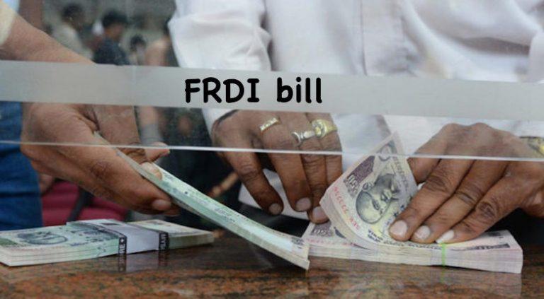 FRDI bill