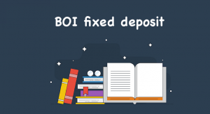 BOI fixed deposit