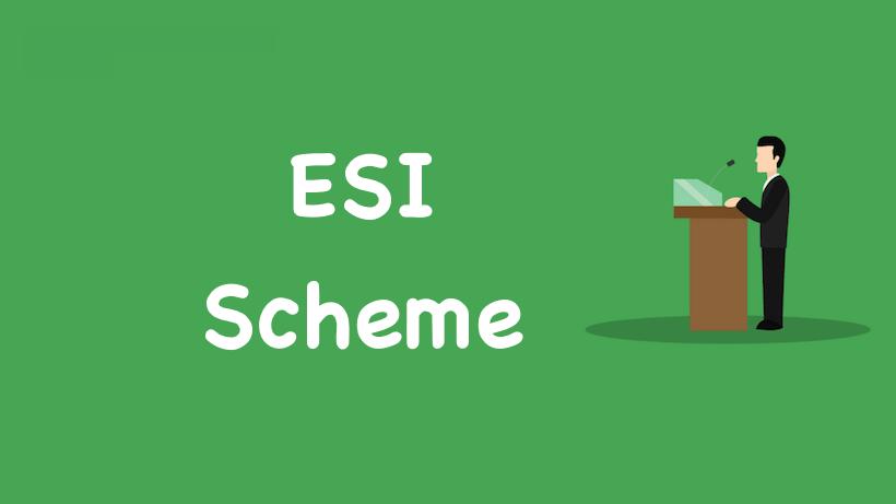 ESI Scheme