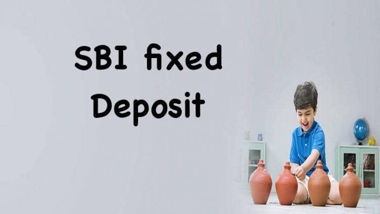SBI fixed deposit