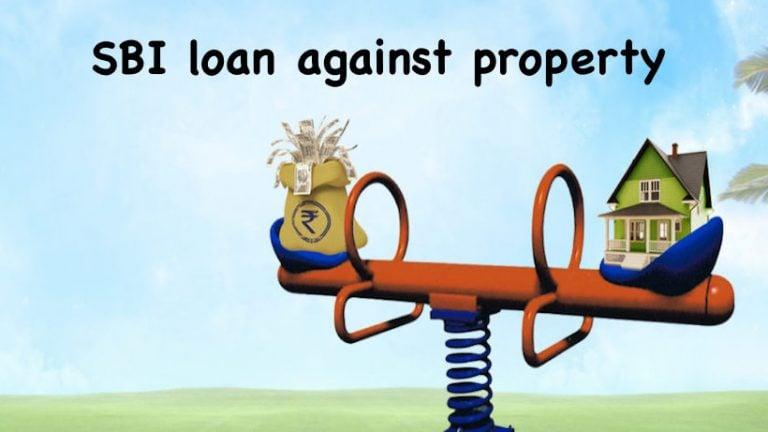 SBI loan against property