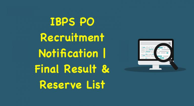 IBPS PO 2019