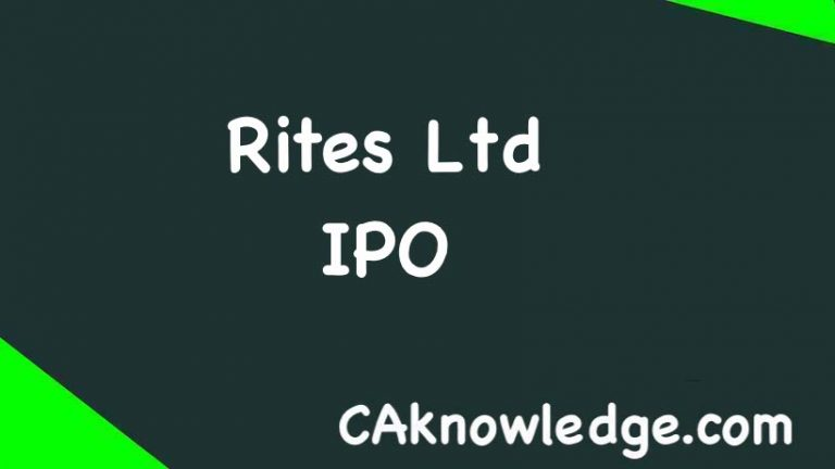 Rites Ltd IPO