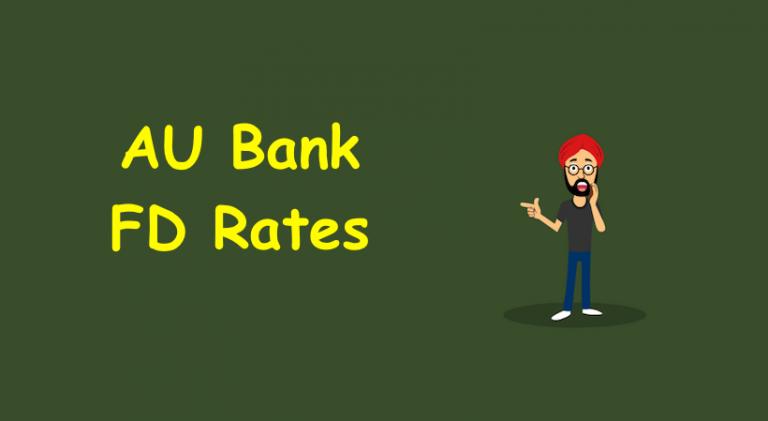 AU Bank FD Rates