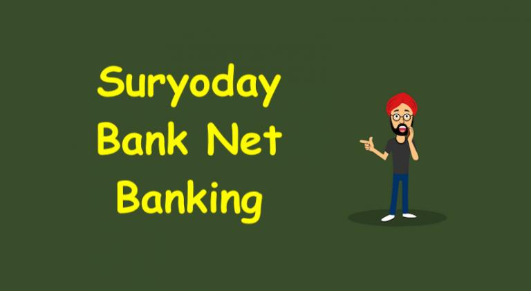 Suryoday Bank Net Banking