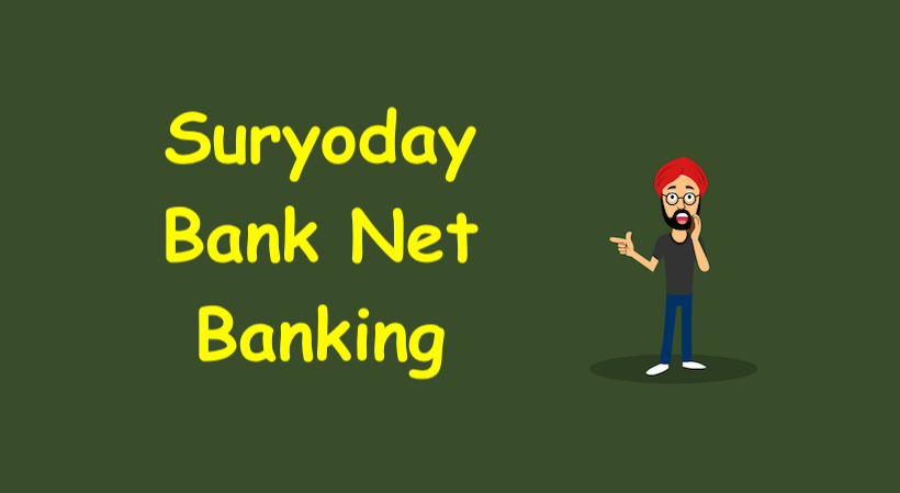 Suryoday Bank Net Banking