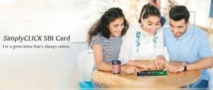 SBI Simply Click Credit Card
