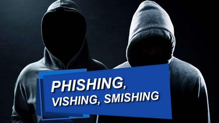 phishing vishing smashing