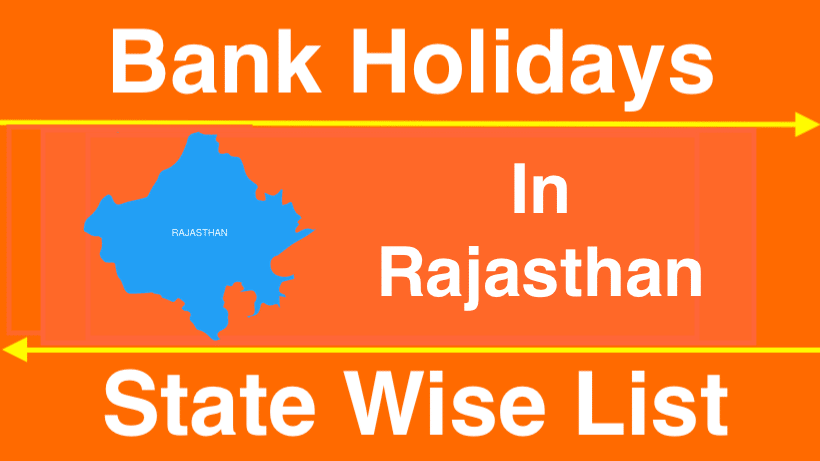 Bank Holidays In Rajasthan