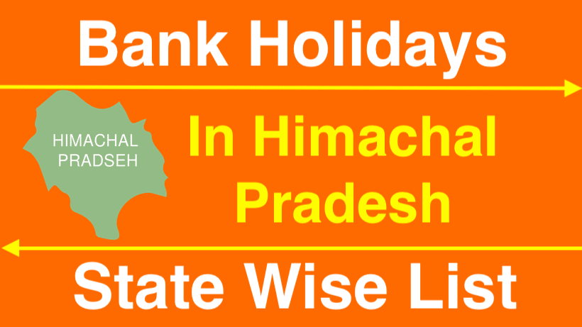 Bank Holidays in Himachal Pradesh