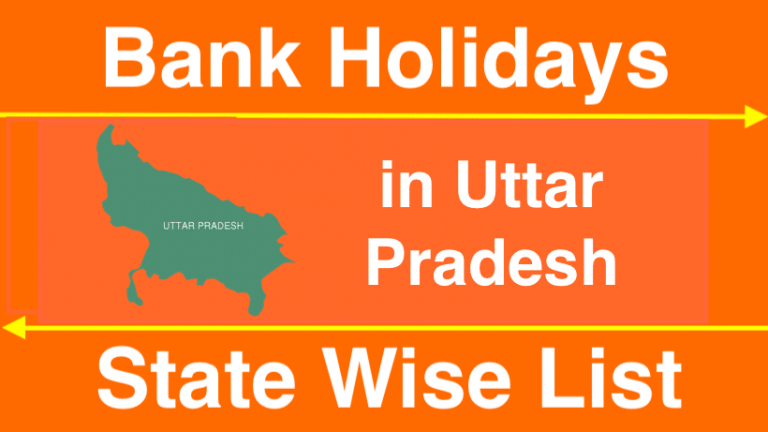 Bank Holidays in Uttar Pradesh