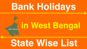 Bank Holidays in West Bengal