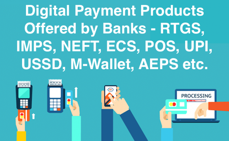 Digital Payment Products