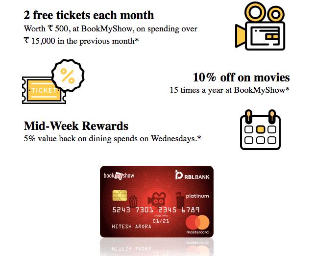 RBL Movies and More credit Card
