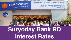 Suryoday Bank RD Interest Rates
