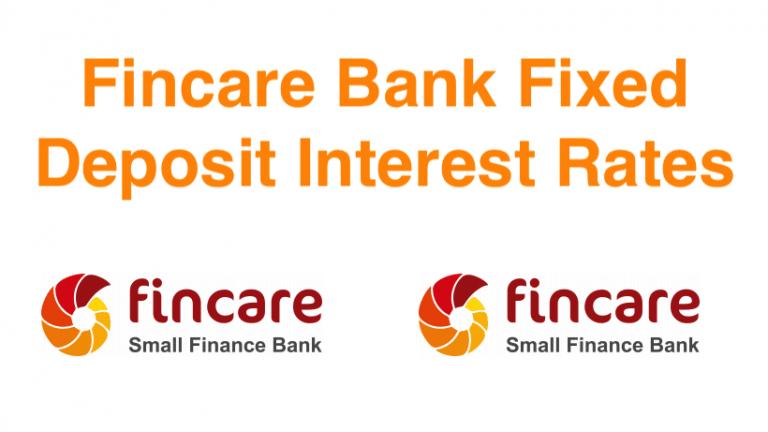 Fincare Bank FD Rates