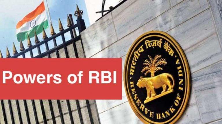 Powers of RBI