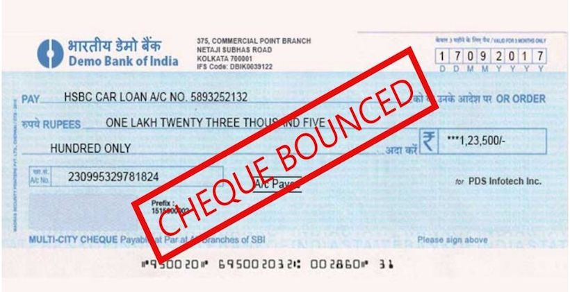 Bouncing or Return of Cheques