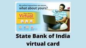 State Bank of India virtual card