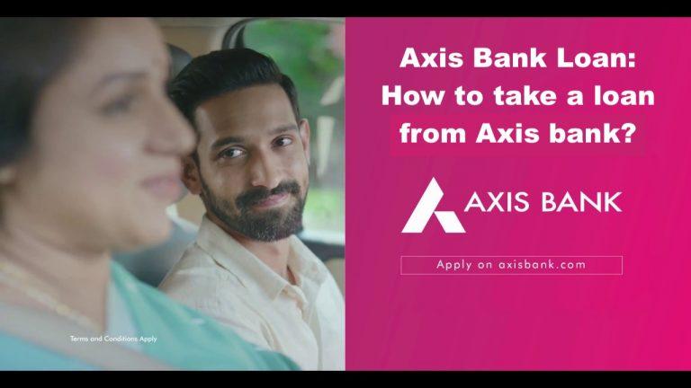 Axis Bank Loan