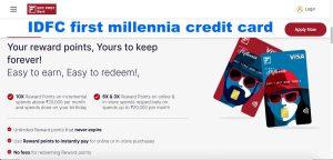 IDFC first millennia credit card