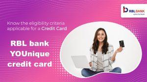 RBL bank YOUnique credit card