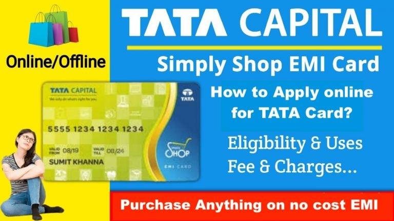 TATA capital EMI card